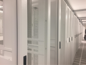 white data center racks 1