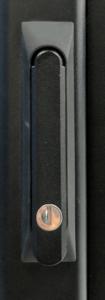 traditional lock for data center rack