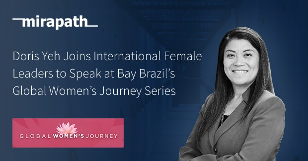 Doris Yeh Joins International Female Leaders to Speak at Bay Brazil's Global Women's Journey Series