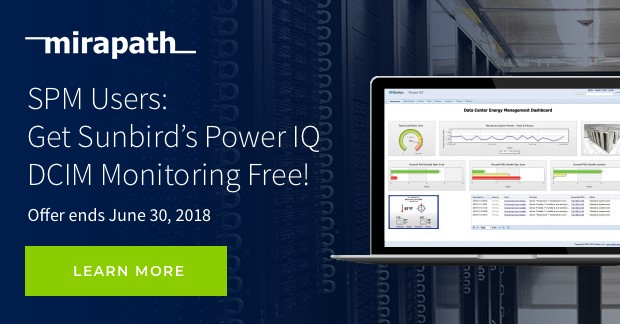 Contact us to learn how to get Sunbird's Power IQ DCIM Monitoring FREE!