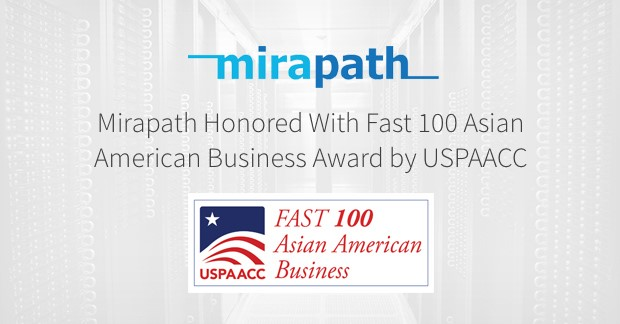 Mirapath USPAACC Fast 100 Asian American Business 2018