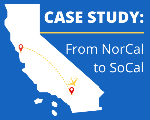 case study from norcal to socal